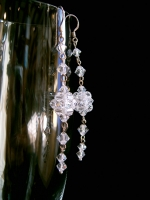 Anita - Sparkly Crystal Drop Wedding Earrings - Bespoke