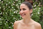 Anita - Crystal Drop Pendant Sparkly Wedding Necklace - Bespoke