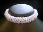 Annabel - Sparkly Crystal Choker Wedding Necklace