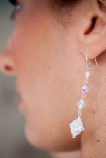 Annette - Sparkly Crystal Drop Wedding Earrings - Bespoke