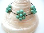 Turquoise Floral Healing Bracelet