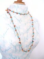 Carnelian Long Wrap Necklace