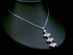 Bea - Pearl Drop Pendant Wedding Necklace