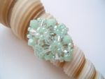 Crystal Beaded Fashion Ring (CR2F Mint)