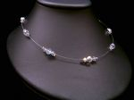 Cherie - Sparkly Crystal Wedding Necklace - Bespoke