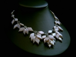 Diana - Statement Pearl Cascade Wedding Necklace