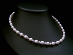 Evelyn - Pearl & Crystal Wedding Necklace - Bespoke