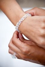 Samantha - Sparkly Crystal Wedding Bracelet - Bespoke