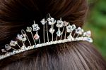 Clarissa - Crystal Wedding Tiara - Bespoke