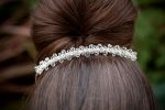Lola - Sparkly Crystal Wedding Headband - Bespoke