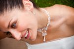 Donnatella - Crystal & Pearl Statement Wedding Necklace