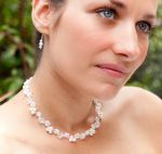 Katherine - Pearl & Crystal Wedding Necklace - Bespoke