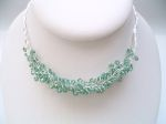 Lola - Crystal Bead Party Necklace (Erinite) - Bespoke