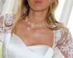 Louisa - Delicate Pearl Wedding Necklace - Bespoke