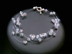 Delia - Crystal Wedding Bracelet - Bespoke