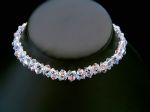 Samantha - Sparkly Crystal Choker Wedding Necklace - Bespoke