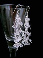 Jojo - Crystal Drop Chandelier Wedding Earrings - Bespoke
