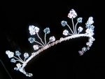 Lizzie - Sparkly Crystal Wedding Tiara - Bespoke