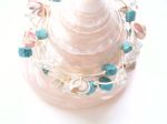 Sea Shell & Turquoise Beachwear Bracelet